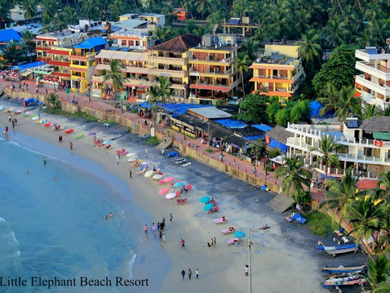 Best hotels in Kovalam - Little Elephant Beach Resort